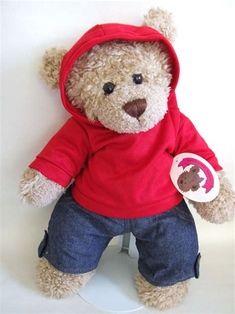 Teddy Wardrobe teddy clothes hooded