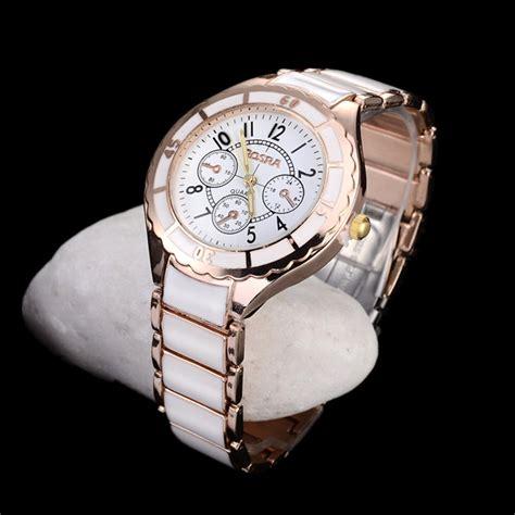 Kalung Fashion Rosegold 1 rosra luxury brand watches fashion gold steel quartz