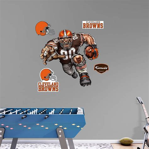 Cleveland Browns Decor by Barreling Brown