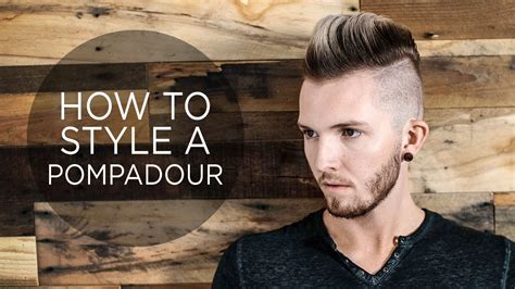 style  pompadour mens hairstyle youtube