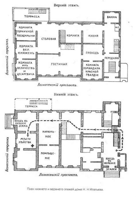 russian house plans floor plans of the ipatiev house imperial russia iii pinterest tsar nicholas