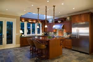 upscale small kitchen islands kitchens with slate floors design ideas amp remodel pictures houzz