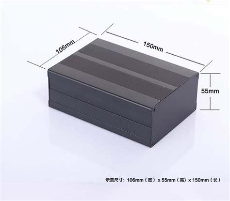 3 X 1w3w Pcb Aluminium Type 3 aluminum enclosure electrical project pcb box 106 4