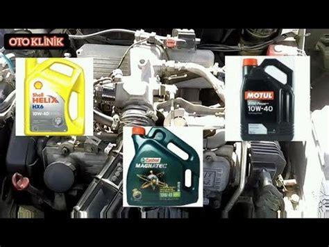 hangi motor yagini kullanmaliyim en iyi motor yagi