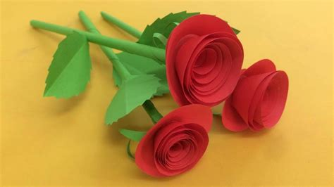 How To Make Tiny Paper Flowers - how to make small flower with paper paper