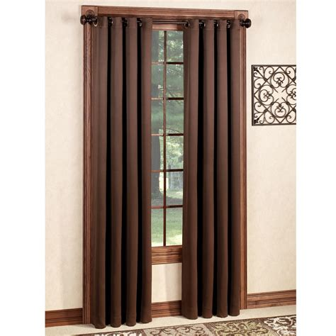 blackout panel curtains carnivale heavyweight blackout grommet curtain panels