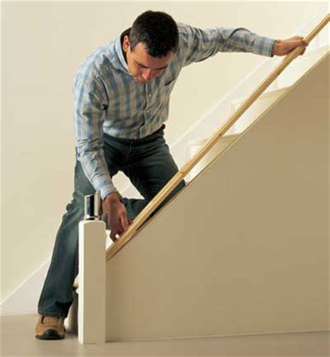 Fitting A Banister Handrail by Staircases Biz How Easy Is The Fusion Handrail To Fit