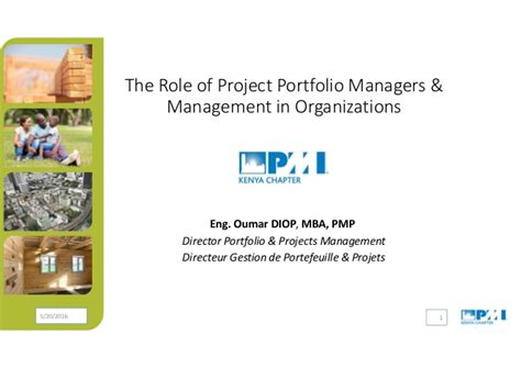Mba Project On Portfolio Management by The Of Project Portfolio Managers Management Eng