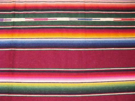 Serape Rug by Mexican Serape Rug