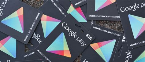 Google Play Online Gift Card - startselect come acquistare gift card google play online
