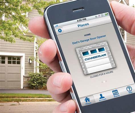 App For Genie Garage Door Opener by Garage Chamberlain Garage Door Opener App Home Garage Ideas