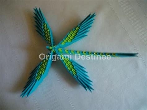 3d Origami Dragonfly - origami dragonfly destinee foundmyself