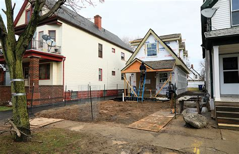 Small Homes Buffalo Ny Developing Small Infill Houses From Longtime Residential
