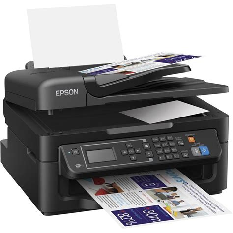 Printer Epson Adf epson workforce wf 2630wf inkjet multifunction printer a4