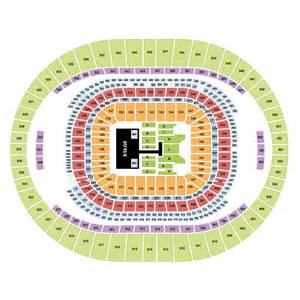 Map Of Mercedes Superdome Beyonc 233 Mercedes Superdome New Orleans Tickets Sat