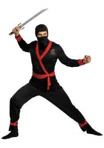 Adult ninja master costume