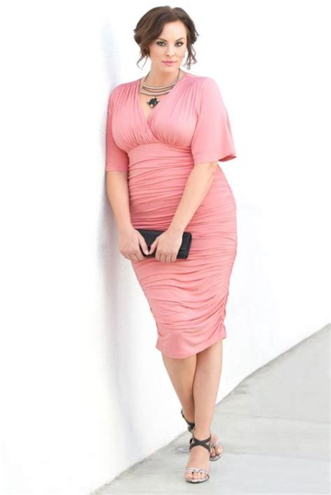 Picture Of stunning plus size mother of the bride dresses 2