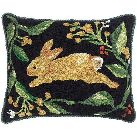 running rabbit pillow