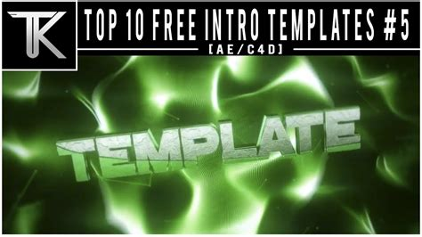 top 10 free intro templates 4 cinema 4d after effects