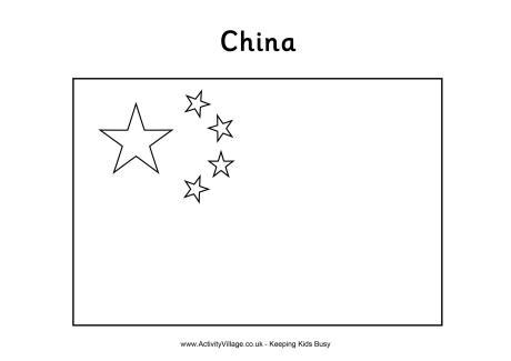 china flag colouring page story of ping fiar vol 1