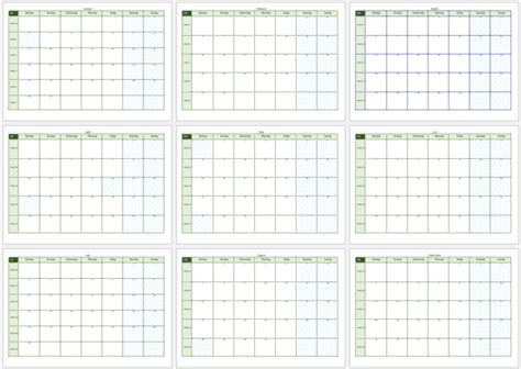 Calendar Template 2017 Microsoft Word 2017 Calendar Templates 8 Weekly Monthly Word