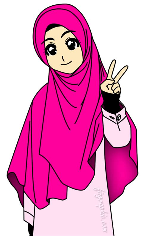 anime perempuan gallery the real hijab