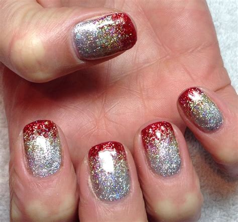 my favourite christmas nails carlybow nails