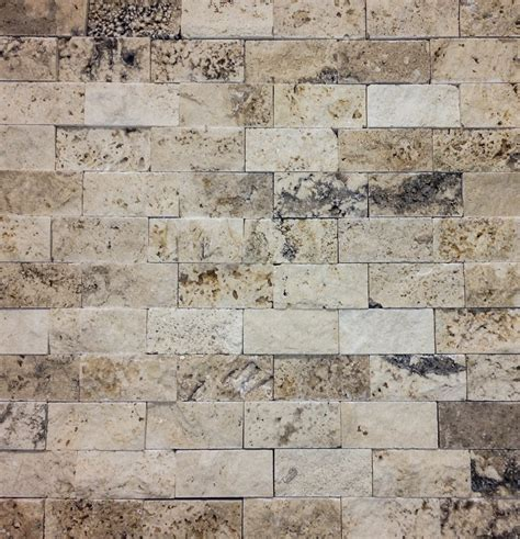 knapp tile and flooring inc split faced stone backsplash tiramisu 1 quot x 2 quot split face petraslate tile stone is a