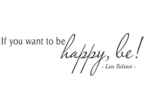 Rechnung Englisch Leo Wandtattoo Zitat If You Want To Be Happy Be Wandtattoos