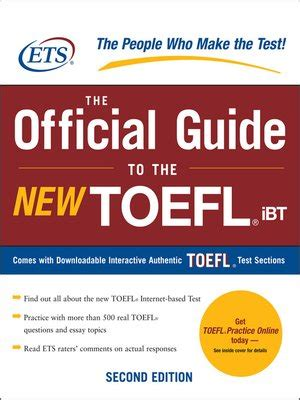 8 In 1 Best Guide Preparation Toefl Vivi Parah the official guide to the new toefl ibt by educational testing service 183 overdrive ebooks