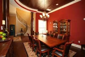 Dining Room Table With Wine Rack 60 Red Room Design Ideas All Rooms Photo Gallery
