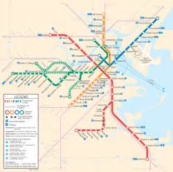 Boston Train Station Map by Using The Mbta Subway System Bsg Social Learning Llc