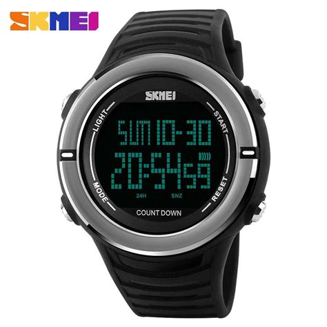 Jam Tangan Original Skmei S Shock Sporty Design Anti Air jual jam tangan pria skmei digital casual sporty led original 1209