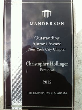 Manderson Graduate School Of Business Mba by Greater New York Alabama Alumni Association