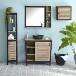alin 233 a pitaya miroir de salle de bains en acacia massif