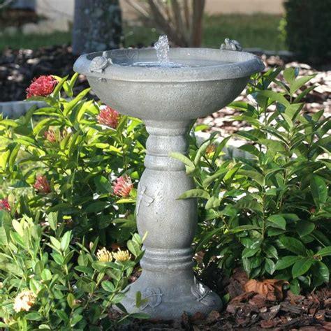 decorarte jardim canada fontaine solaire de jardin un choix sage et 233 colo