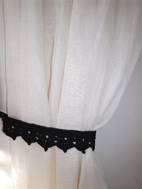 Living Room Curtain Holder 17 Best Ideas About Black Curtain Holdbacks On