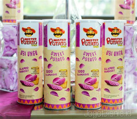 mister potato crisps sajikan varian sweet potato rasa ubi