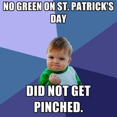 St Patricks Day Memes - victory st patrick s day memes popsugar tech photo 12