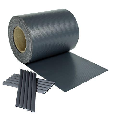 doppelstabmatten folie 3 m 178 pvc sichtschutz streifen folie doppelstabmatten