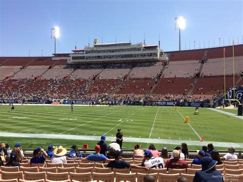 La Section 8 by Los Angeles Coliseum Seating Chart Cablestream Co