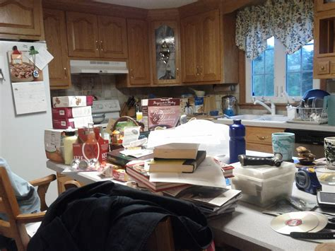 messy kitchen messy kitchen by the end of the month my kitchen is