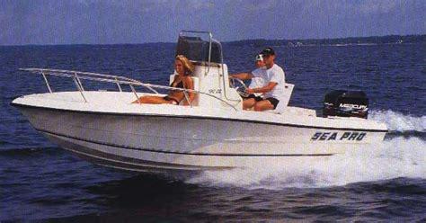 sea pro boats values fishing boats sea pro boats