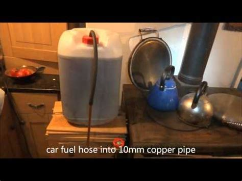 diy ozzirt waste oil heater drip feed waste oil heater how to save money and do it
