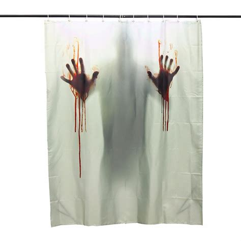 halloween curtain halloween horror blood bath polyester shower curtain