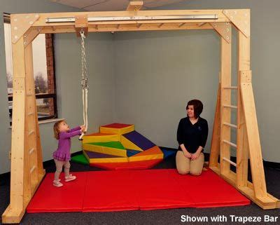 therapy swing frame indoor swing frame for occupational therapy ideas for