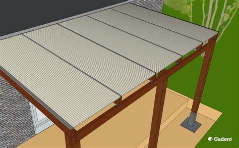 dakplaten plat dak polycarbonaat platen monteren zelf plaatsen polycarbonaat dak