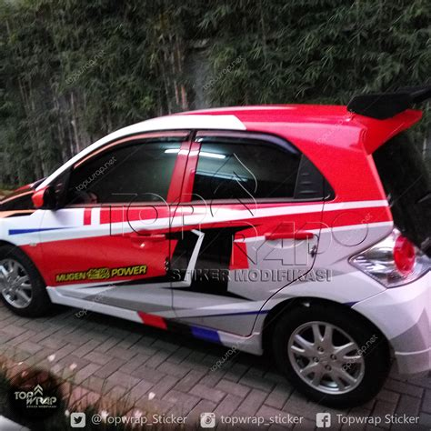 Modifikasi Mobil Jakarta by Koleksi Modifikasi Cutting Sticker Mobil Honda Brio