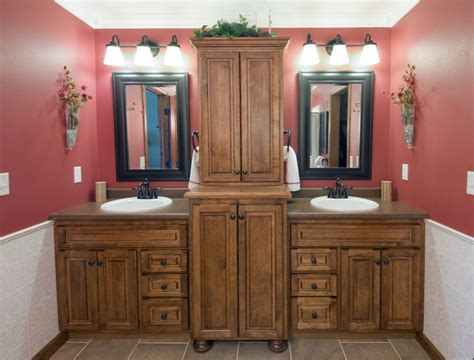 bathroom vanity with tower cabinet bathroom double vanity with center tower ideas delightful