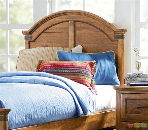 pine twin bed bryce canyon heirloom pine arched panel twin bed